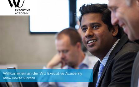 Infoabend für berufsbegleitende Universitätslehrgänge der WU Executive Academy