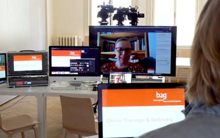 b2g stellt Raum für Webinare zur Verfügung