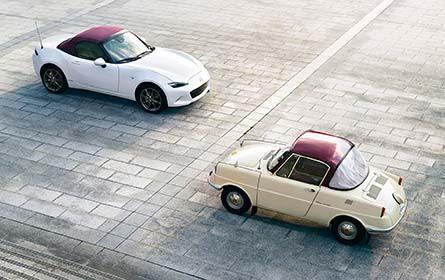 Mazda feiert mit Sondermodellen Geburtstag