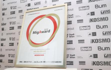 """Melisa Erkurt gewinnt den """"MigAward 2020"""" in der Kategorie """"Medien"""""""