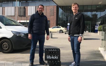 fritz-kola unterstützt Helfer und Kulturschaffende