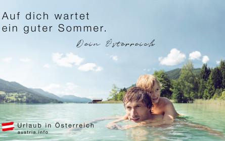 Österreich Werbung: Offensive für Urlaub in Österreich startet