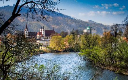 Klösterlicher Beistand für Österreichs für Gösser-Bier