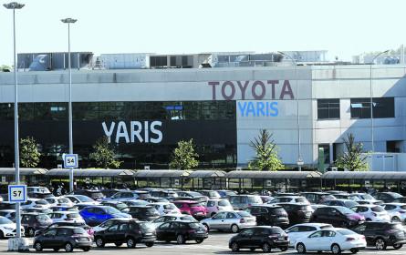 Toyota: Gewinnplus trotz Absatzrückgang