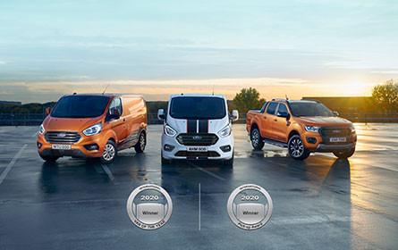 Ford ist Nummer 1 bei Nutzfahrzeugen