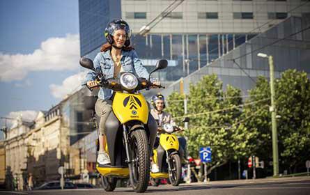 ÖAMTC E-Moped Sharing-Flotte startet in die neue Saison