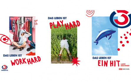 Ö3-Plakatkampagne: Das Leben ist ein Hit! #Jetzt und immer