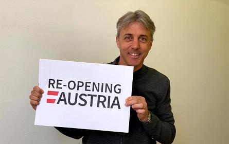 Re-opening Austria mit Studenten als First Mover