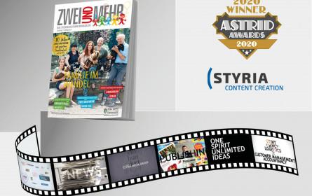 """Grand Award für """"150 Jahre Styria Media Group"""" bei Astrid Awards"""