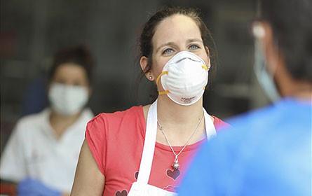 5.000 Schutzmasken für das Rote Kreuz