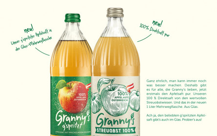Neue Mehrwegflaschen und neue Werbekampagne von Division4