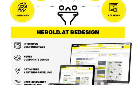 Herold.at-Relaunch bringt punktgenaue Suchergebnisse und mehr Benutzerfreundlichkeit