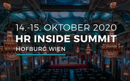 HR Inside Summit 14. & 15. Oktober