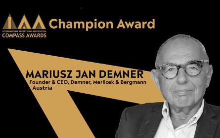 Mariusz Jan Demner erhält IAA Global Compass Award