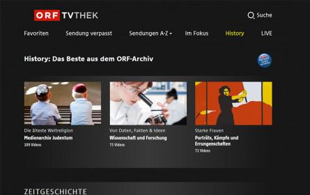 """""""ORF-TVthek goes school"""" mit neuem """"Wissenschaft und Forschung""""-Videoarchiv und erweitertem """"Medienarchiv Judentum"""""""