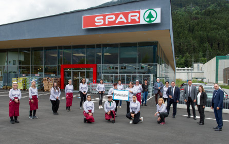 Spar expandiert im Tiroler Oberland