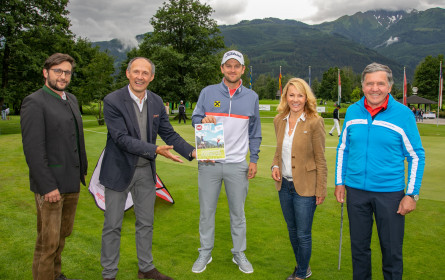 SalzburgerLand präsentierte sich als erstklassige Golf-Destination