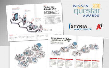 Styria Content Creation holt Gold und Bronze
