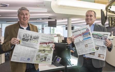 """Die """"Tiroler Tageszeitung"""" feiert ihren 75. Geburtstag"""