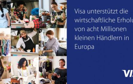 Visa unterstützt die kleinen Händler in Europa