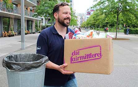 """Lidl Österreich unterstützt die """"Fairmittlerei"""" mit Warenspenden"""