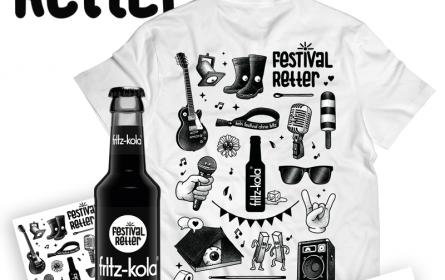 fritz-kola unterstützt (jetzt schon) den Festival Sommer 2021