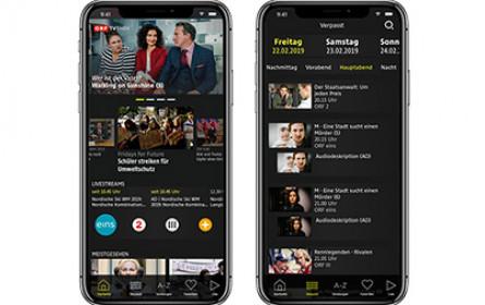 Neue ORF-TVthek-App für Huawei