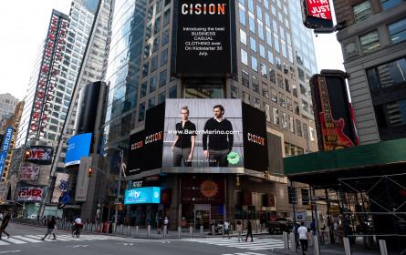 Tiroler Start Up wirbt jetzt am Time Square in New York