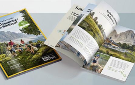 """Red Bull Mediahouse Publishing mit """"Urlaubshandbuch"""" für IDM Südtirol"""