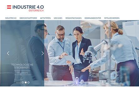 Website-Light-Relaunch der Plattform Industrie 4.0