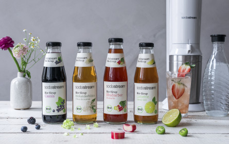 Sommer im Glas: Lecker erfrischen mit den Bio-Sirups von SodaStream