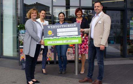Lidl Österreich spendet 1.000 Euro an SOS-Kinderdörfer