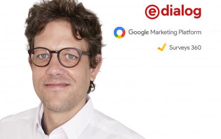 e-dialog erweitert das Leistungs-Portfolio um Online-Marktforschung mit Google Surveys