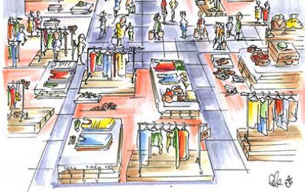 Sommeroutlet: Einkaufsvergnügen auf über 600 m²
