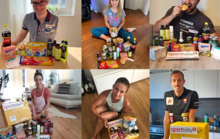 Sporthilfe überrascht Sportlerinnen und Sportler mit Goodie-Box