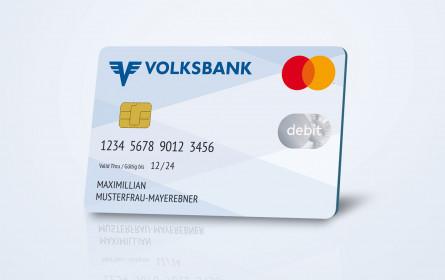 Mehr als 500.000 Volksbank-Kunden erhalten die neue Debit Mastercard