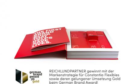 Reichl und Partner bringt Gold vom German Brand Award mit