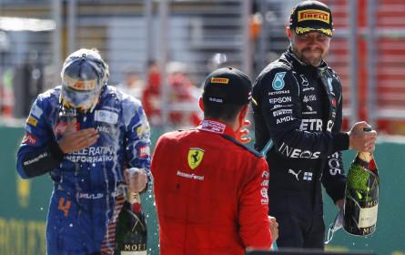 Formel 1: 46 Prozent Marktanteil für ORF-Übertragung aus Spielberg