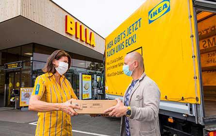 IKEA testet neuen Abholservice mit Billa