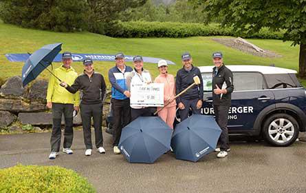 Charity-Golfturnier der Nürnberger und Garanta brachte 17.000 Euro