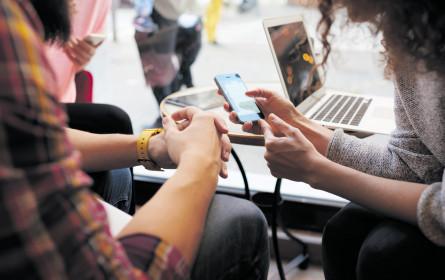 Online-Shopping weiterhin auf dem Vormarsch
