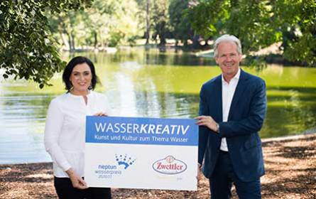 Neptun Wasserpreis: Privatbrauerei Zwettl ist neuer Partner