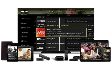Goldbach Austria vermarktet Free-TV-Streamingplattform Pluto TV