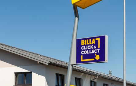 Volles Leben in der neuen Billa Filiale in Wals