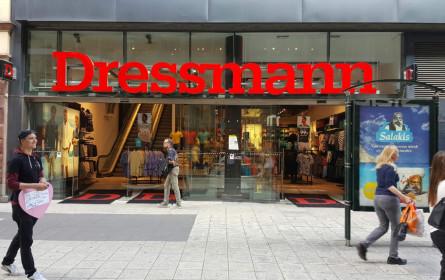 Dressmann schließt letzte Filialen in Österreich bis 31. August