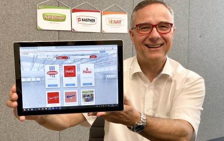 Kastner ist Vorreiter: Erste virtuelle Messe im Lebensmittelgroßhandel