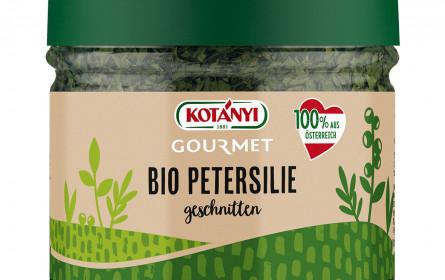 Kotányi bringt heimische Bio-Kräuter und -Gewürze auf den Markt