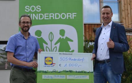 Lidl-Mitarbeiter starten Spendenaktion fürbdas SOS-Kinderdorf Steiermark