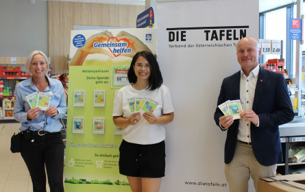 Lidl Österreich: Großer Erfolg für Tafelsammelwoche