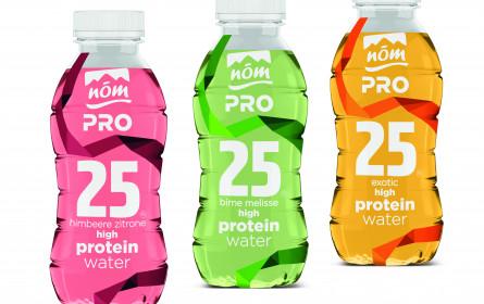 Proteinwasser statt Eiweißshake